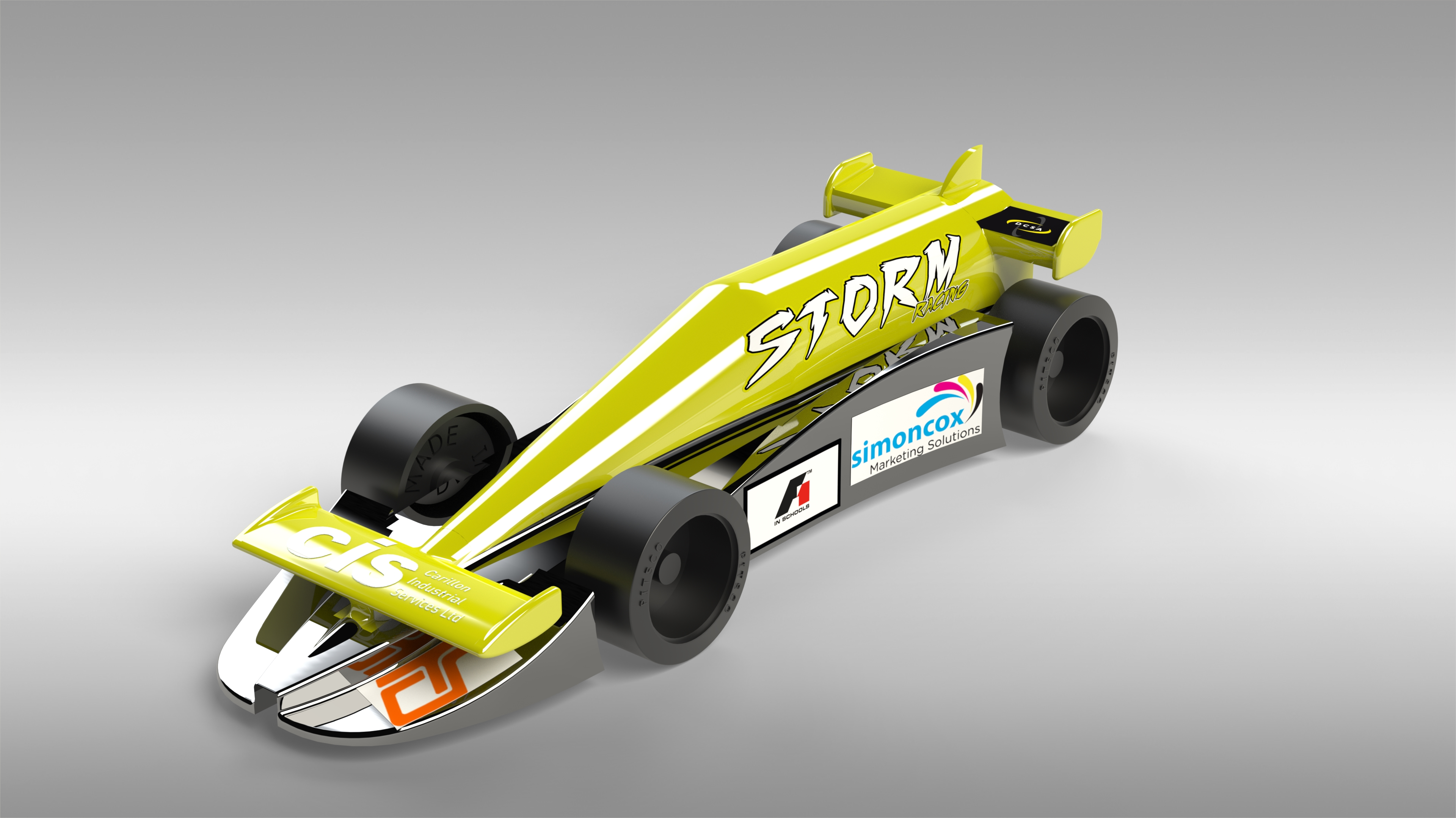 Cis Support Storm Racing In F1 In Schools Via Our Ppc Facility Winners Of Their Region Now In National Finals Cis Tools